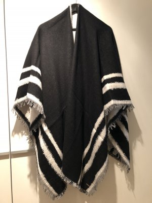 Boss Orange Shoulder Scarf black-white