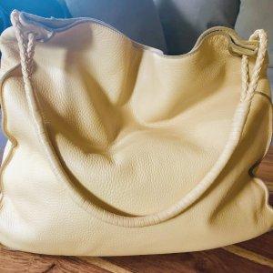 Bottega Veneta Borsellino sabbia-giallo pallido Pelle