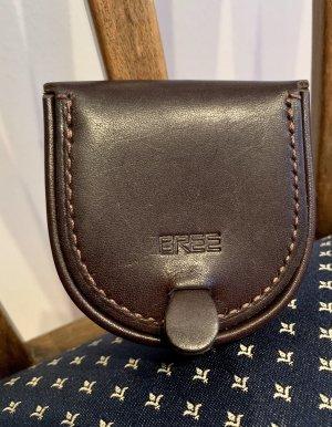 Bree Wallet dark brown leather