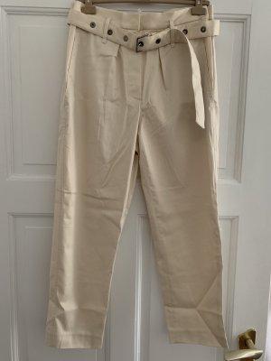 Brunello Cucinelli Pantalone jersey bianco sporco-crema