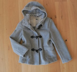Original Buberry Dufflecoat Jacke beige Gr.38 M Duffle Coat Jacke Winterjacke Wintermantel Kapuze