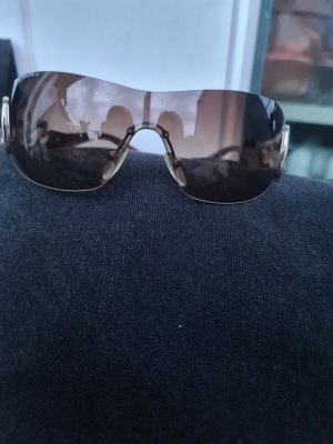 Bulgari Oval Sunglasses brown