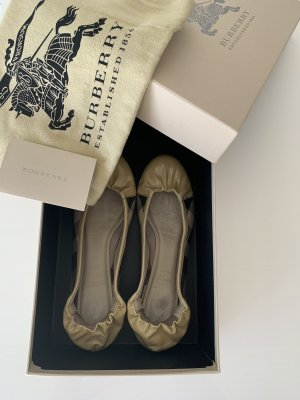 Burberry Patent Leather Ballerinas multicolored leather