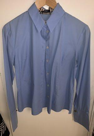 Burberry Camicetta body blu acciaio Cotone