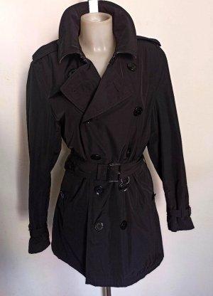 Burberry Brit Trench Coat black mixture fibre