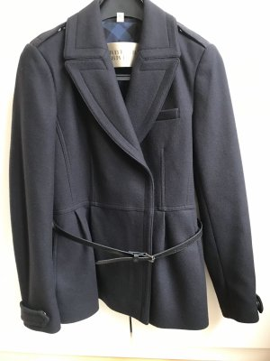 Burberry Brit Wool Jacket dark blue