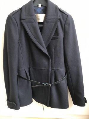 Burberry Brit Chaqueta de lana azul oscuro