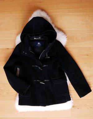 Original Burberry Damen Dufflecoat Dufflejacke schwarz Gr.38/M Jacke Mantel Duffle Coat Winterjacke