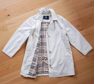 Original Burberry Damen Mantel Trenchcoat Gr42/44 XL XXL creme Jacke beige leicht Check