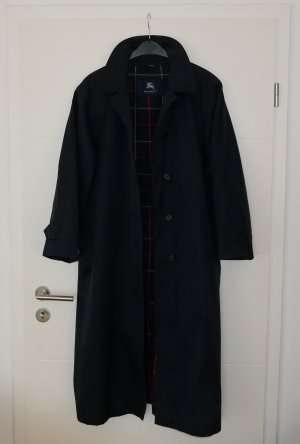 Burberry Trench Coat dark blue-blue cotton