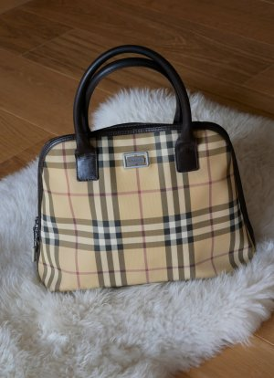 Burberry Handbag gold-colored-black brown