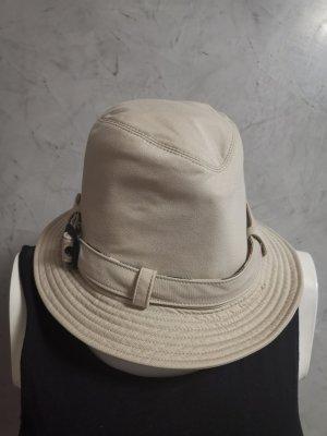 Burberry Cappello da pescatore bianco sporco Cotone
