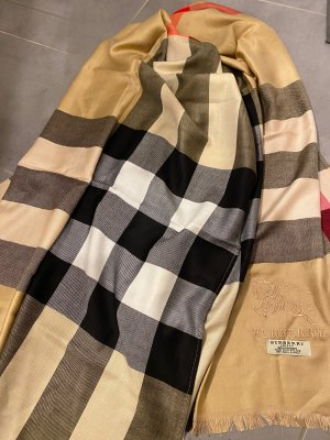 Original Burberry Kaschmir Schal Nova Check XL