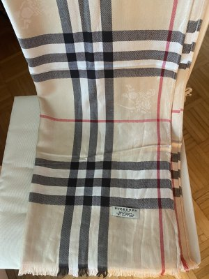 Original Burberry Kaschmir Tuch in Beige