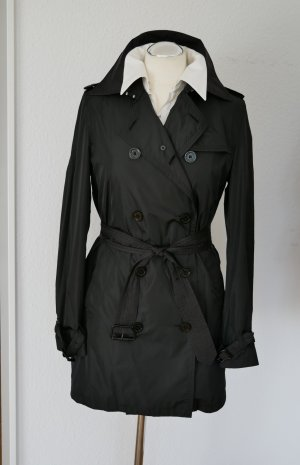Burberry Trenchcoat zwart Nylon