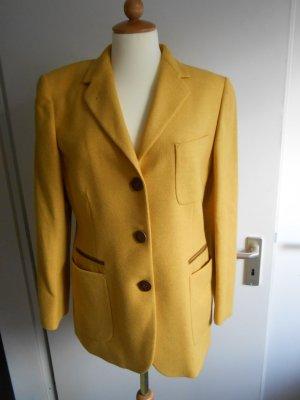 Burberry London Blazer in lana arancione chiaro Lana