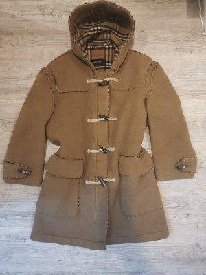Burberry Wollen jas lichtbruin