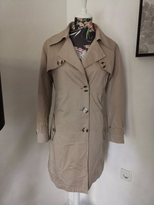 Original Burberry London Mantel Beige Gr 40 M ital 46