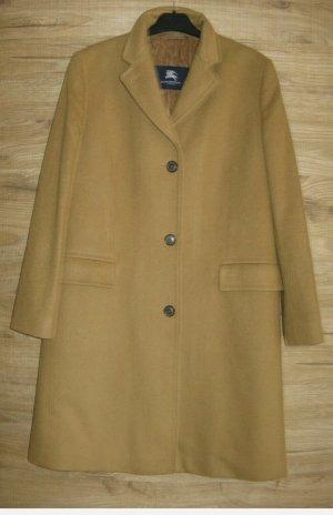 Burberry Wollen jas lichtbruin-zandig bruin