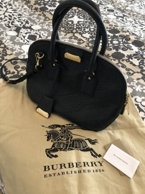 Burberry Handbag black-gold-colored leather