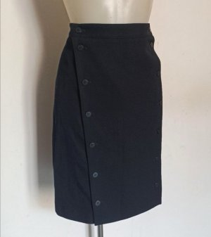 Burberry London Pencil Skirt black cotton