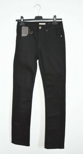 Burberry Jeans stretch noir tissu mixte
