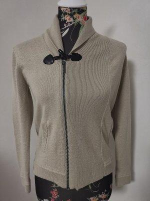 Burberry Wełniany sweter jasnobeżowy
