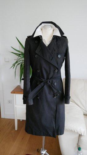 Original Burberry Trenchcoat schwarz Gr.36/S Mantel