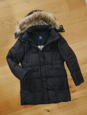 Burberry Winter Coat black