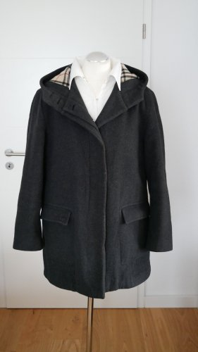 Burberry Oversized Coat anthracite-black