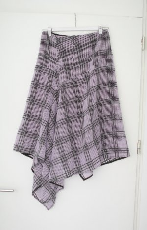 by Malene Birger Plaid Skirt mauve