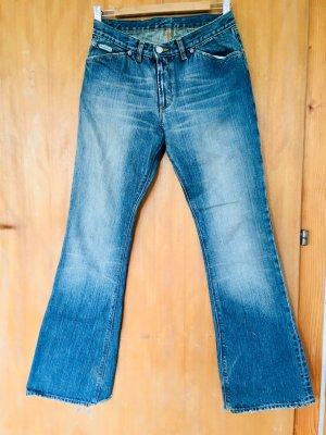 Calvin Klein Jeans Boot Cut Jeans blue cotton