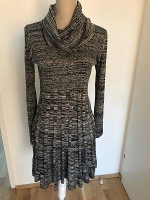 Original Calvin Klein Kleid mit Wasserfall Kragen Gr. M
