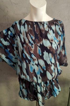 Calvin Klein Jeans Top col bénitier multicolore tissu mixte