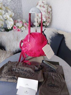 Campomaggi Crossbody bag magenta leather