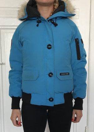 Original Canada Goose Winterjacke, Skijacke, Snowboardjacke, blau, Größe S
