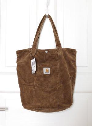 Original Carhartt Hamilton Brown Tote Bag Beutel Tasche Braun Kord neu mit Etikett