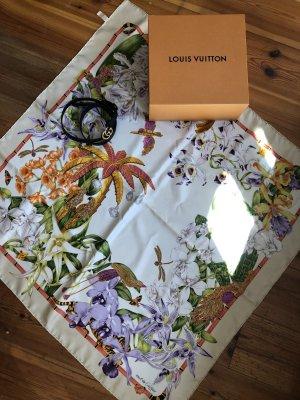 Original Cartier Seiden Tuch groß Sommer Motiv neu