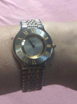 Original Cartier Uhr  Bi colour