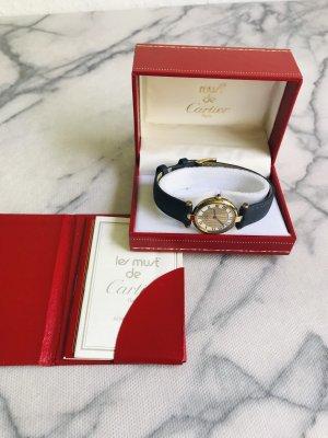 Original Cartier Vermeil Uhr inkl. Box