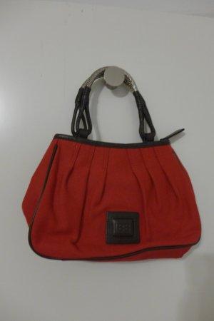Original Cerruti 1881 Tasche rot braun silber mit Dustbag wie neu