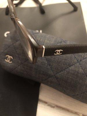Chanel Lunettes noir-gris anthracite