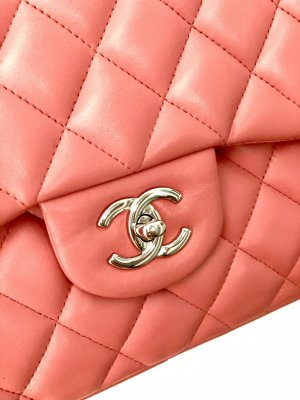 ❗️Original CHANEL Classic Double Flap Bag rosé/SHW *TOP Zustand❗️