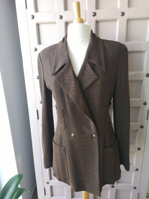 Original Chanel Jacke Vintage Blazer Long Blazer Luxus Pur