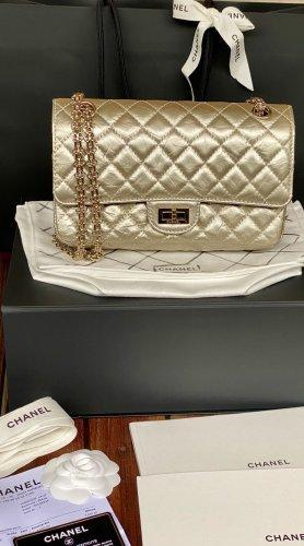 Chanel Handbag gold-colored leather