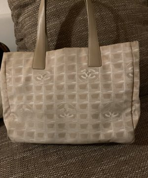 Chanel Shopper room-licht beige