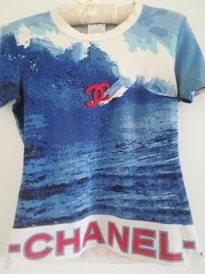 Original CHANEL SHIRT, Vintage, Kollektion 2002, Baumwolle, Gr. 40 (38)