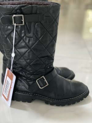 Chanel Riding Boots black