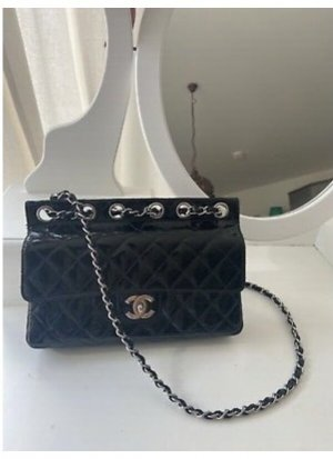 Chanel Torebka podręczna czarny Skóra