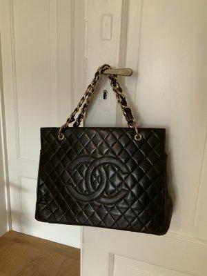Chanel Draagtas zwart bruin-donkerrood